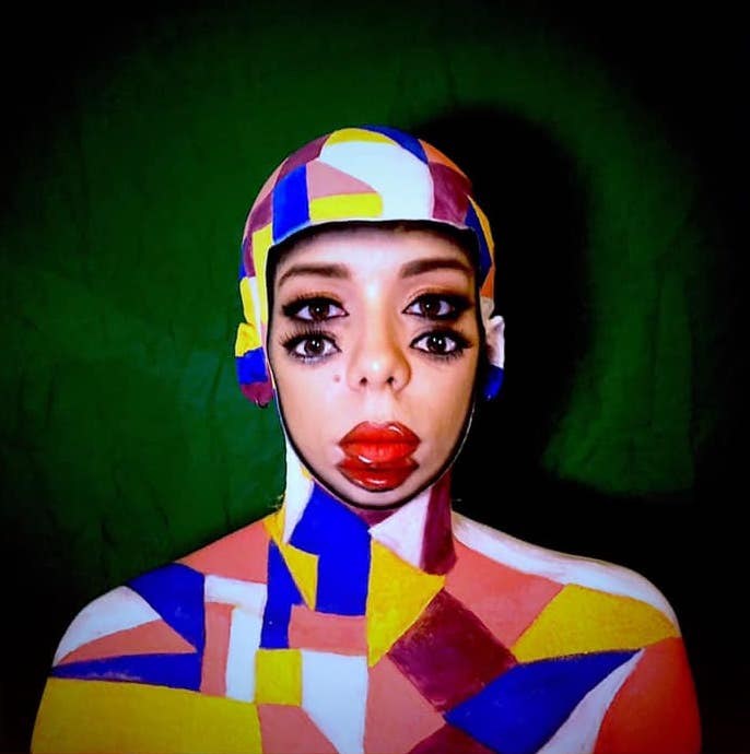 galerie Face painting 1